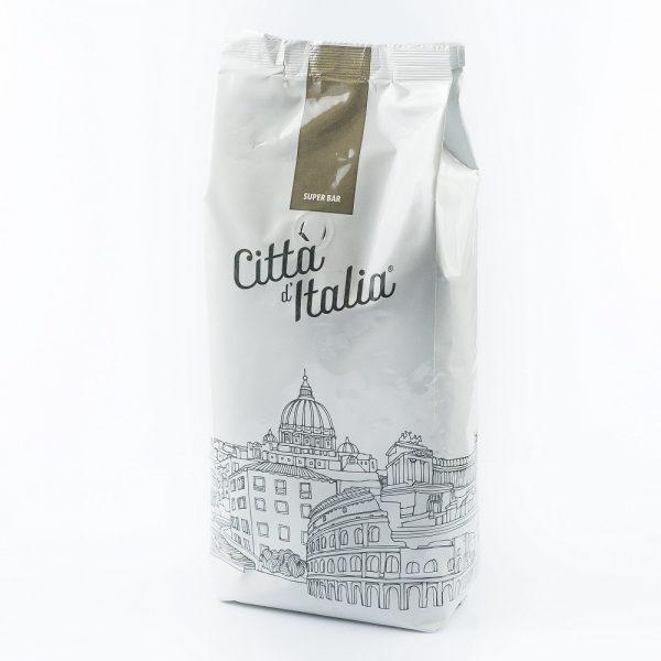 Kawa ziarnista Citta d'Italia Super bar