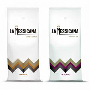 Kawa ziarnista LaMessicana crema bar gusto forte