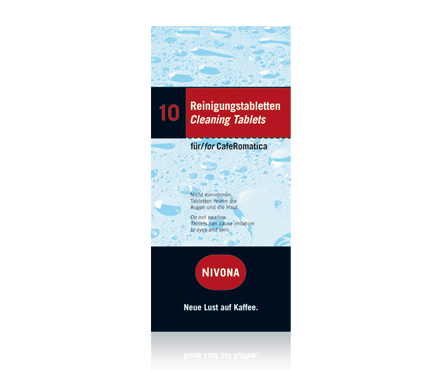 Tabletki do czyszczenia Nivona