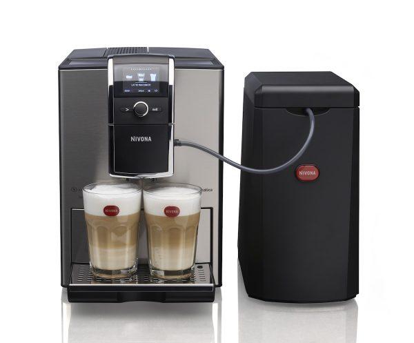 Ekspres do kawy Nivona 859 oraz chłodziarka