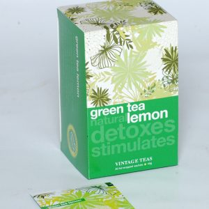 Herbata Vintage teas green lemon
