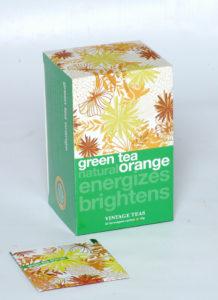 Herbata Vintage teas green orange