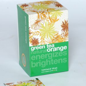 Herbata Vintage teas green orange