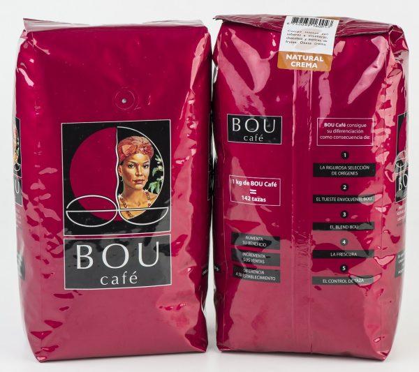 Kawa ziarnista Bou Cafe Natural Crema