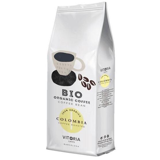 Kawa Organiczna Vitoria Columbia Ziarnista 500g